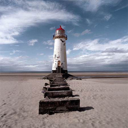 Light House Lighthouse And Sky Talacre Beach Talacre Lighthouse Sky Cloud - Sky Land Lighthouse Guidance Nature Architecture Tower Built Structure Sand Building Exterior Beach Horizon Direction Day Security Protection Scenics - Nature Water No People Outdoors