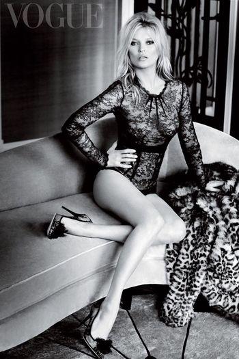 Kate Moss Vogue UK December14 Issue Katemoss Mariotestino Britishvogue