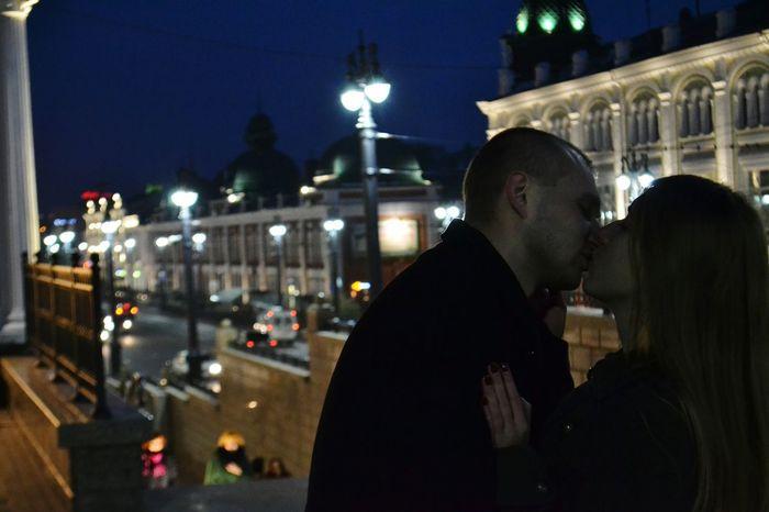 Love... Sky Two People Couple Date Night - Romance Night