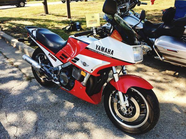 Yamaha FJ1200 Classic Motorcycle Bike Show USA