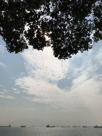 Hong Kong Sky Nature Day Outdoors No People Sky And Clouds Sunny Sunny Day Sea Sea And Sky