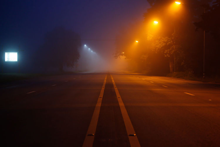 Night Illuminated Fog Road Car No People Winter City Thunderstorm LED Light Road Sign Outdoors No People, Empty Road Empty Streets Empty Travel Nightphotography Night Photography Paint The Town Yellow Transportation Night Lights Morning StillLifePhotography Alone Fresh On Market 2017