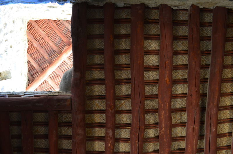 Architecture Brown Built Structure Close-up Day Fort Fujairah History Interior No People Pattern UAE United Arab Emirates Wood - Material Woven