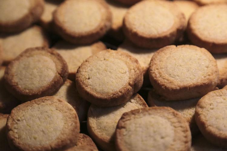 Full frame shot of cookies