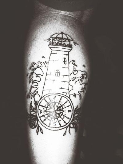 Tattoo Blood проба пера Маяк