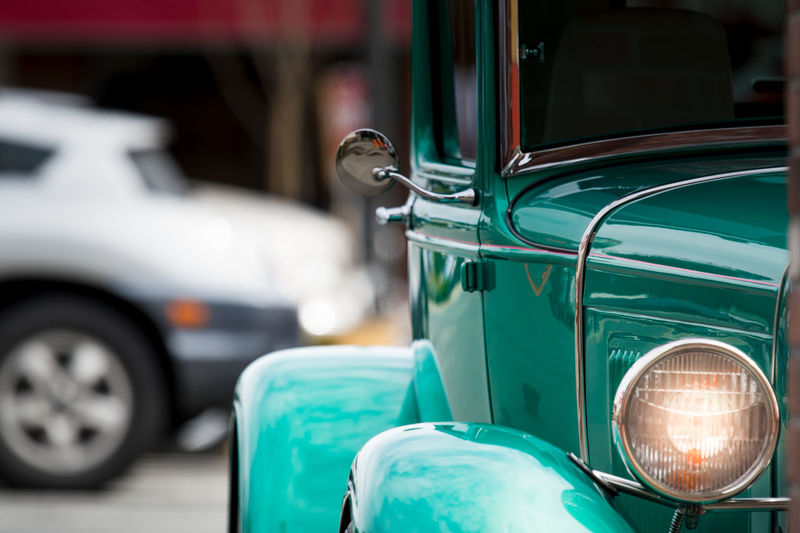 Vintage car with chrome Auto Repair Shop Car Chrome Close-up Day Focus On Foreground Greaser HotRod Land Vehicle Metallic Mode Of Transport No People Old Car Old Cars Outdoors Shiney Shiney Metal Surface Transport Transportation Transportation Vintage Vintage Car Vintage Cars
