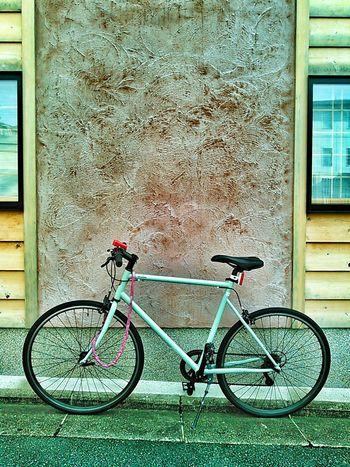祇園の自転車 Bicycle Architecture Land Vehicle Pink Color Parked No People Cycle 京都 祇園 Gion