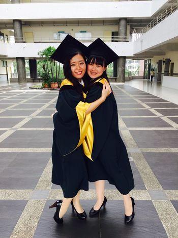 Graduate 20170622 University Campus Memories Myself Taiwan