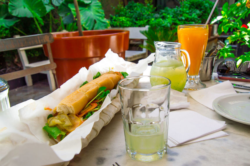Healthy Eating Food And Drink Food Sandwhich Indoors  Outdoors Sandwiches Sandwich Time Sandwichphoto Sandwich Sandwichporn No People Drink Natural Juice Lemonade Freshness Fresh