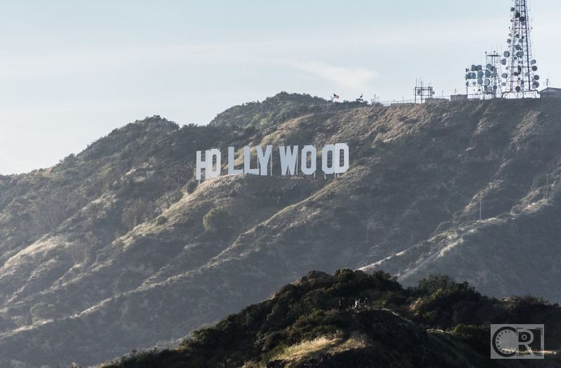 Hollywoodland. Hollywood Sign Hollywood Hollywood Hills Mountain Sky Outdoors Day Scenics Nature Griffith Observatory 365project