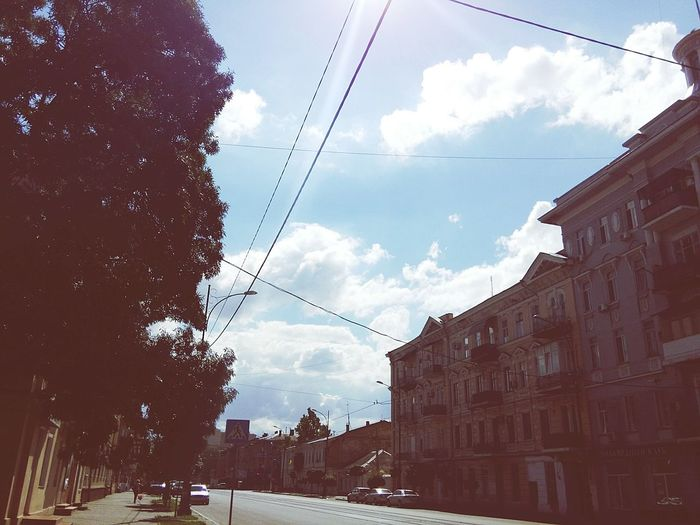 Odessa OdessaUkraine Relaxing Summer Clouds Sky Enjoying Life Street Hope I Miss You Photo Old City