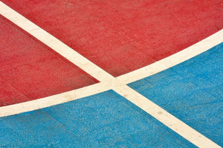 Full frame shot of sports court