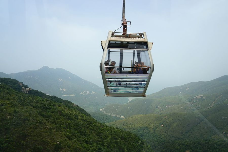 Hongkong Photos Cable Car Travel Mountain View Fresh Scent Protecting Where We Play Sightseeing Taking Photos Streamzoofamily