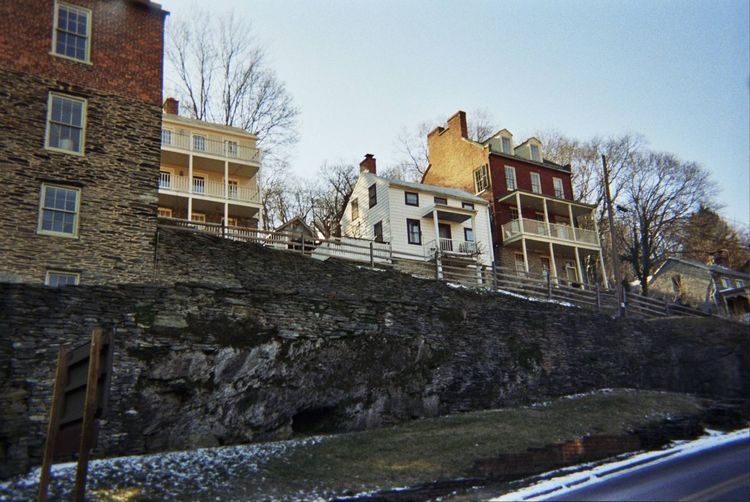 Adapted To The City Harpers Ferry Historical Buildings Civil War