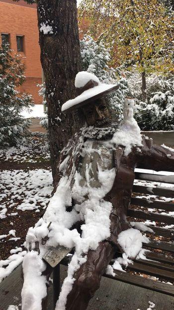Snow Walt Whitman Snowman Cold Temperature