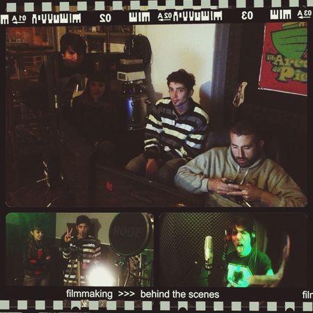 Recording CONVOI - grabacion Convoi In Studio