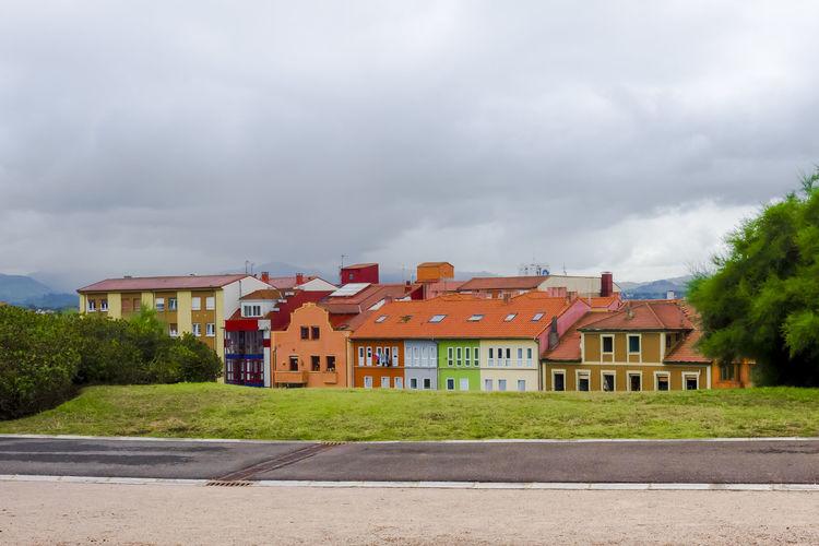 Houses near the