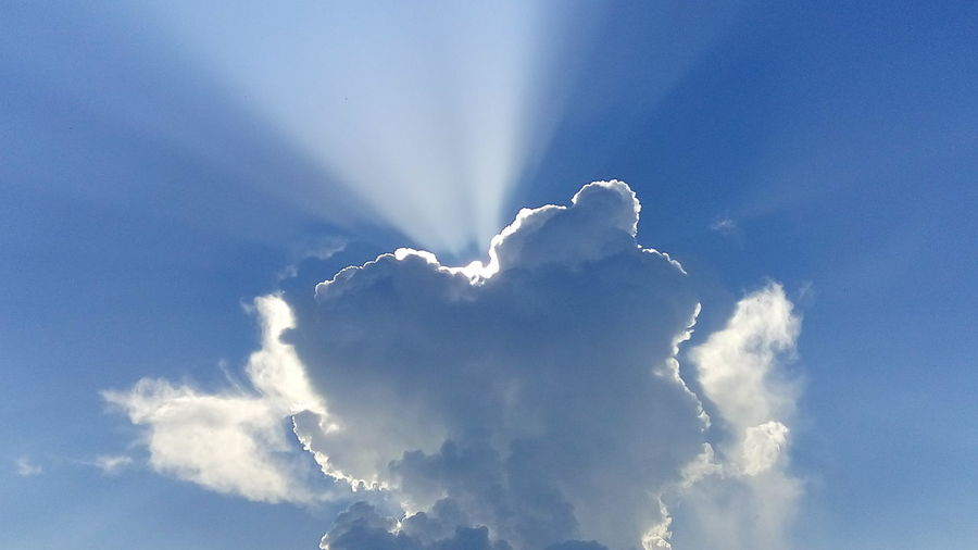 Sun Clouds And
