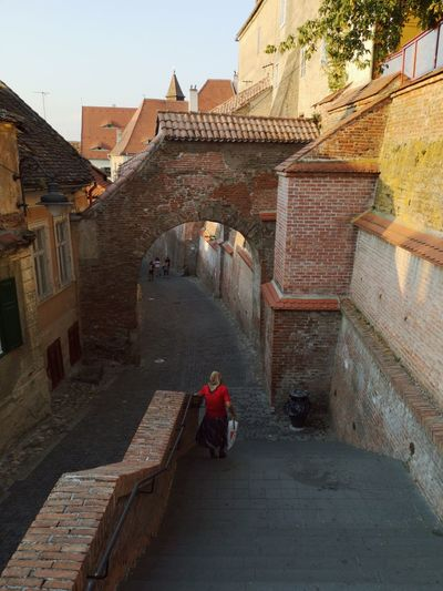 Slowly Romania Sibiu Ancient Civilization Place Of Worship Religion History Steps Architecture Built Structure Travel