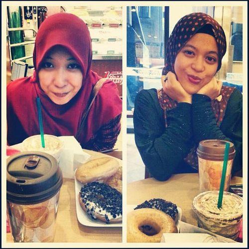 Caramelish date with @dnahaha Buangduit