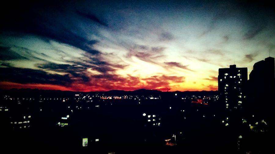 화성시 저녁노을 갤럭시노트3 이사한 날 Sunset_collection First Eyeem Photo