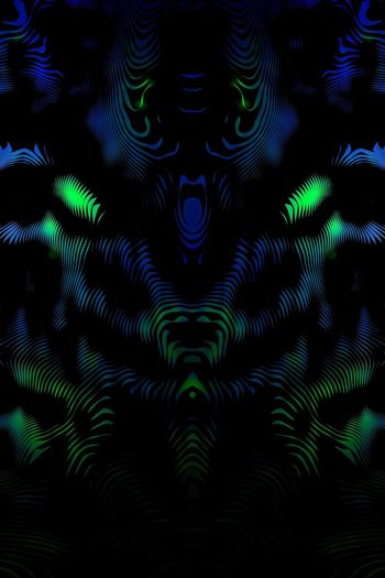 Surreal Abstract Psychedelic Blacklight Neon Color Art Artphotography Fractals