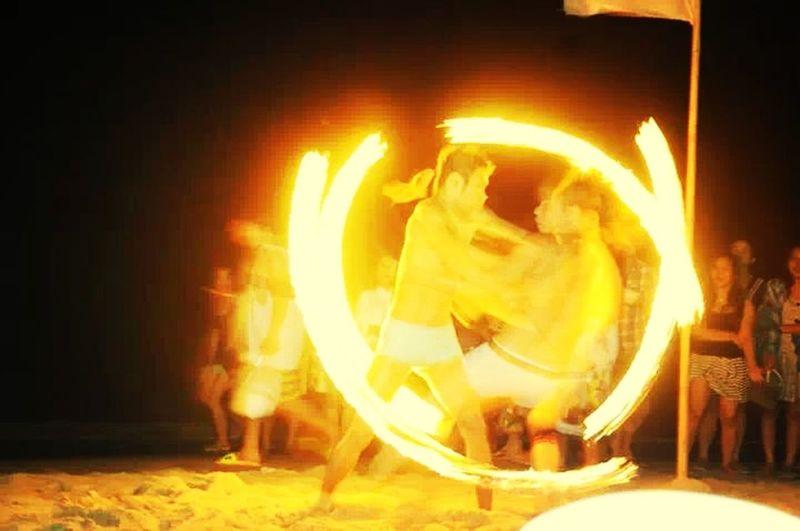 Summer Summers Hottest Puerto Galera  Fire Dance