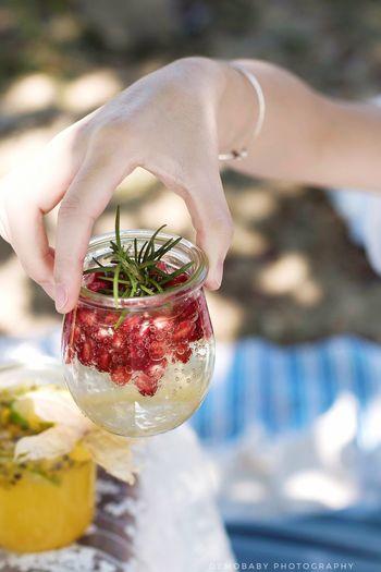 秋日野餐 · 气泡果酱饮
