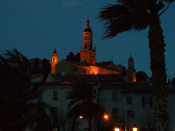Night Photography Côte D'Azur Menton French Riviera