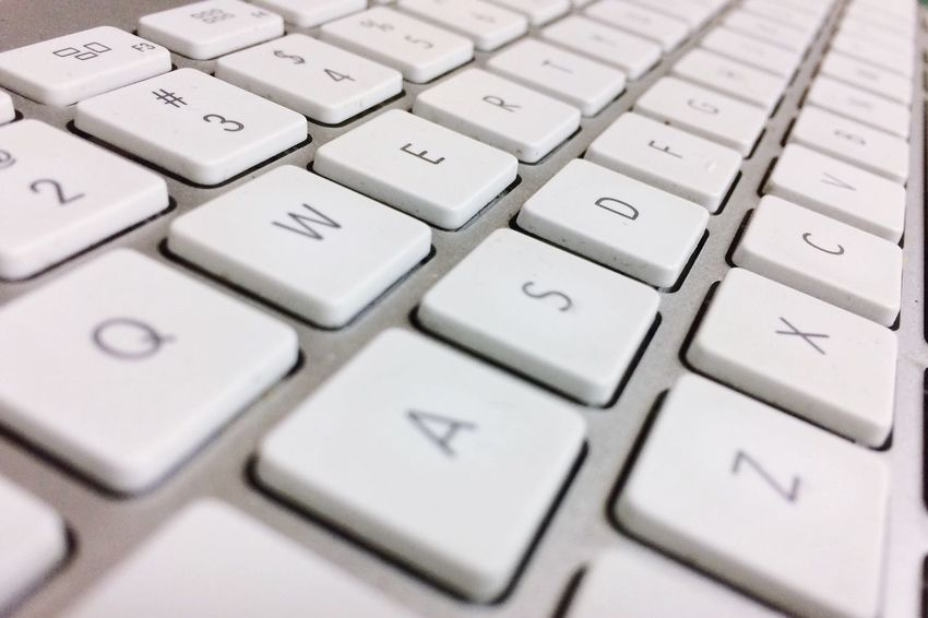 Computer Keyboard Computer Key Technology Computer Close-up Communication Alphabet Internet Computer Equipment Indoors  No People Imac Apple Inc. Iphone5s Iphonephotography Backgrounds Qwerty Keyboard Qwerty