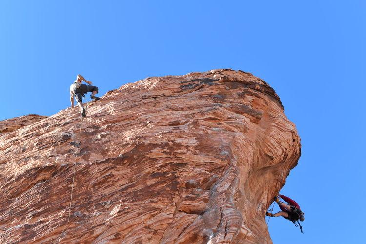 Cliff Desert Nature Rock Rock Climbing Rock Formation Rough Sandstone