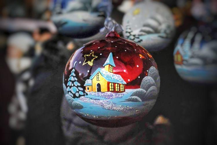 #cristmas #lucidinatale #pallinedinatale #bolzano #bozen Multi Colored Text Close-up