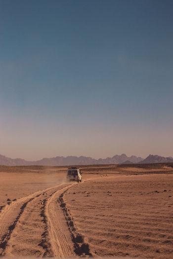 The beauty sand dunes of siwa