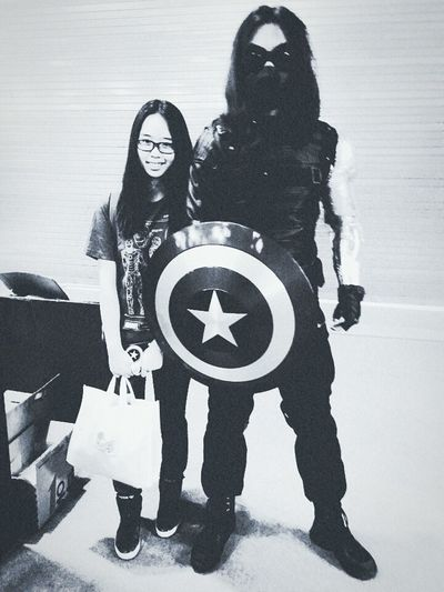 Shcc Comiccon This is the best WinterSoldier Coser I've ever seen!!