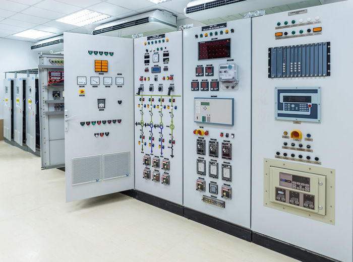 Electrical equipment in control room