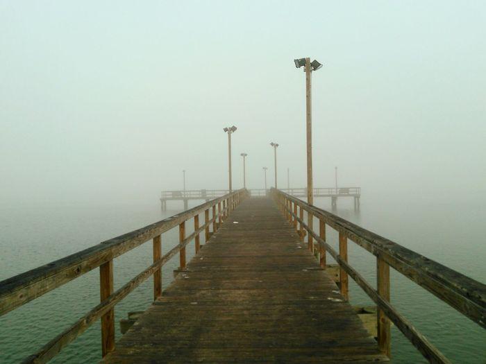 My Best Photo 2015 Foggy Day Island Life Pier