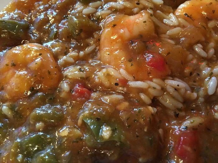 Cajun shrimp étouffée. Etoufee Cajun Cajun Cuisine Shrimp Roux Rice Louisiana French Quarter Bistro Shrimp étouffée Delicious Food And Drink Food No People Close-up Freshness Healthy Eating