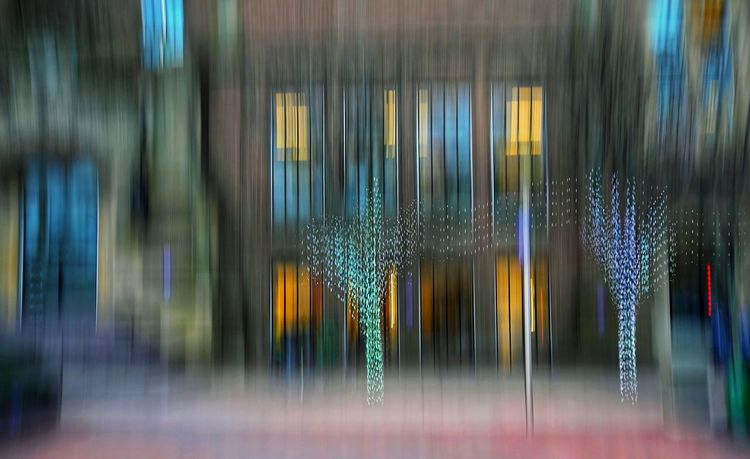 Ways Of Seeing Surreal Architecture Surreal Abstract Illuminated Architecture ICM Intentional Camera Movement ICM Photo Urban Life, Life In Motion, Street Life, Architecture, Building Exterior Abstract Photography Icm Holiday Lighting Outdoors EyeEm Ready   Shades Of Winter The Graphic City Colour Your Horizn Visual Creativity The Creative - 2018 EyeEm Awards HUAWEI Photo Award: After Dark Capture Tomorrow