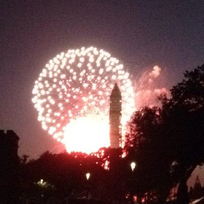 Awesome Fireworks at our Nations Capitol.