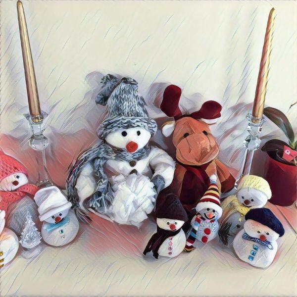 Snow Snowman⛄ No People Christmastime Xmas Decorations