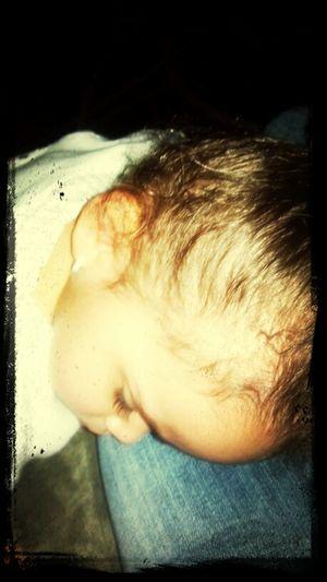 Look at my sleeping beauty! :)