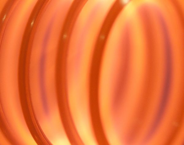 Filament Bulb Light Electricity  Orange Abstract Neon Life