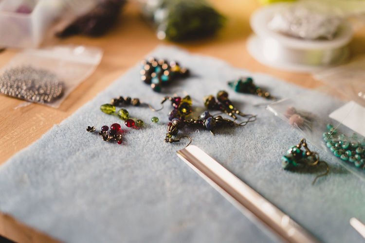 Craft Items Craftsmanship  Vintage Craft Arts And Crafts Selective Focus Table Food And Drink Food Indoors  No People Still Life Close-up Spice High Angle View Wood - Material Freshness Cutting Board Choice Ingredient Plant Seed Wellbeing Healthy Eating