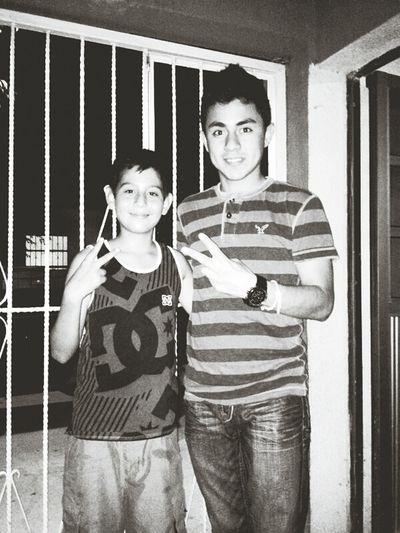 Mi Hermano <3 Y Mi Primo Rockyulo (:
