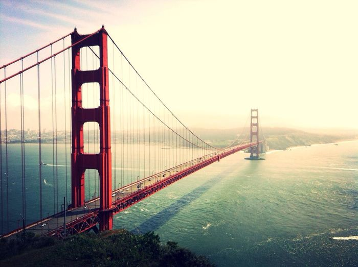 I love this amazing bridge! San Francisco Golden Gate Bridge Landscape_Collection EyeEm Bestsellers Market Bestsellers Feb 2016