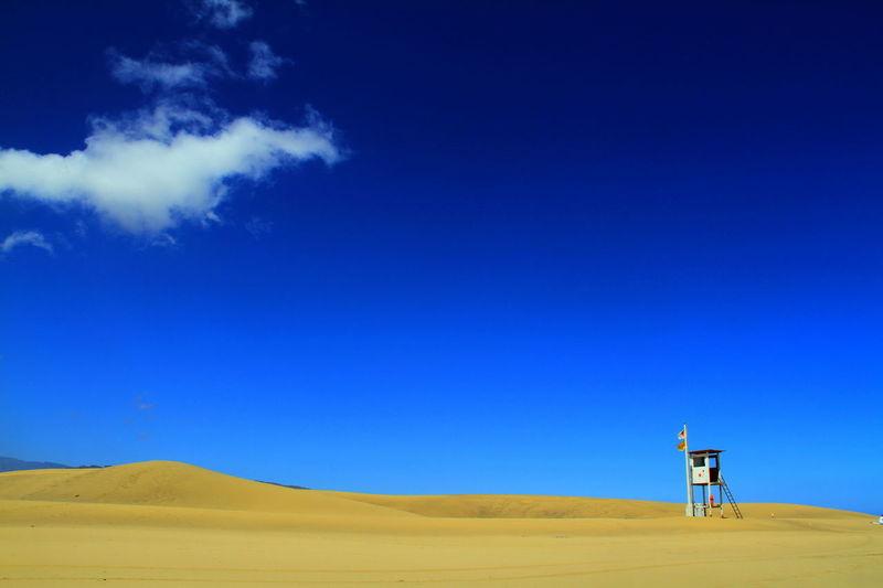 Beach Beachguard BeachGuards Blue Skye Blue Skye White Clouds By The Sea Island Outdoor Sand Sand Dune Sky And Clouds SPAIN Sunnyday☀️