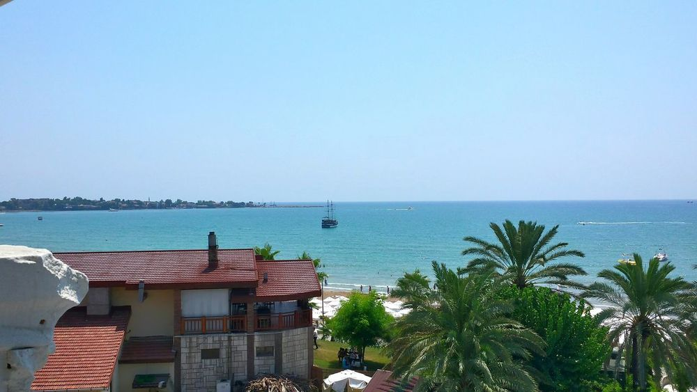 Turkey Side Hotel Sandy Beach Beautiful View Summer Views Beach And Sky Holidays On A Holiday Enjoying The View Beautiful Sea View Been There.