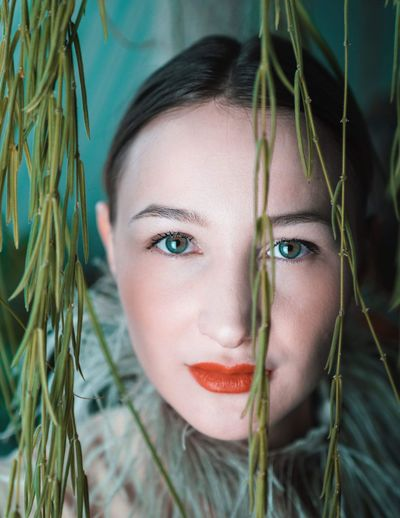 Lights Portrait Photography Vienna Vienna, Austria Portrait Of A Woman One Person Portrait Young Adult Headshot Beauty Looking At Camera Women Beautiful Woman Young Women Close-up Make-up Human Face Nature Plant Front View Human Body Part Body Part Adult Hairstyle