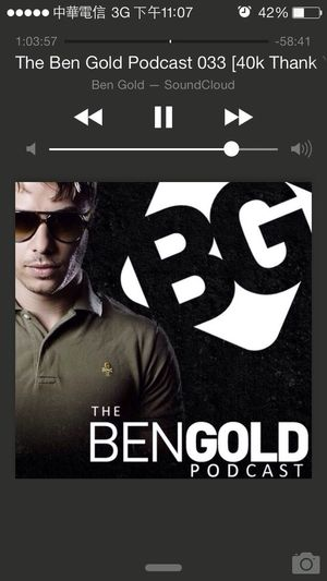 Really nice podcast ! Trance Trancefamily Ben Gold Music