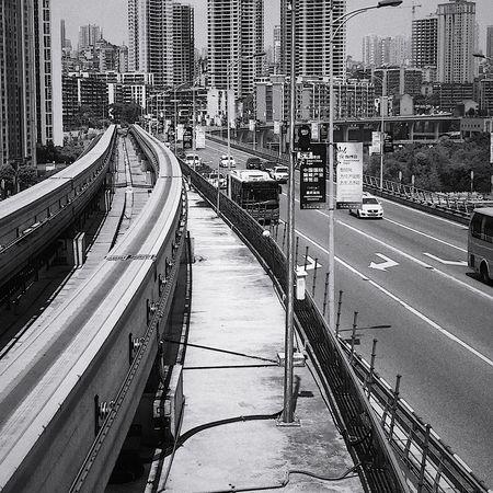 文艺重庆 | 059 Iphone6plus Architecture Built Structure City Transportation Road High Angle View Building Exterior